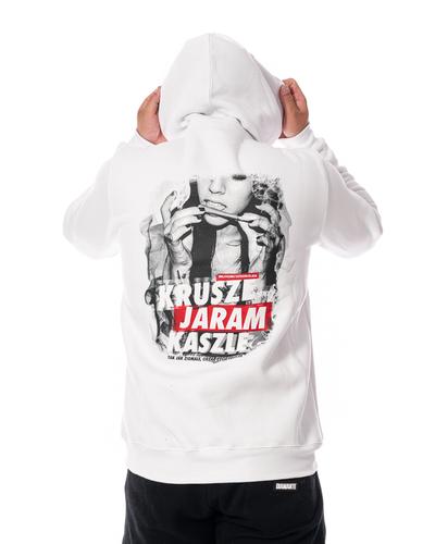 Bluza Z Kapturem 3maj Fason Krusze Biała
